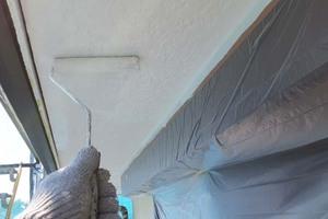 外壁屋根塗装 銚子市サイディングボード(軒天)