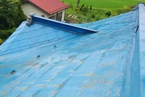 屋根塗装 棚倉町 トタン屋根塗装(洗浄)