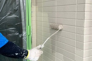 外壁塗装 棚倉町 サイディングボード壁塗装(塗り)