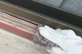 外壁屋根塗装 常陸大宮サイディングボード(ケレン)