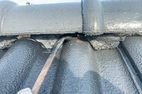 外壁塗装 小山市サイディングボード(屋根の塗り)
