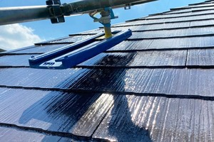 屋根塗装 小山市コロニアル屋根(屋根の塗り)