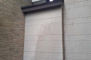 外壁塗装 鹿嶋市サイディングボード壁塗装(施工前)