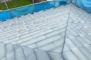外壁屋根塗装 那須烏山市サイディングボード(施工前)